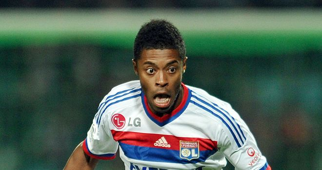 Michel Bastos: On target for Lyon in draw against Nancy