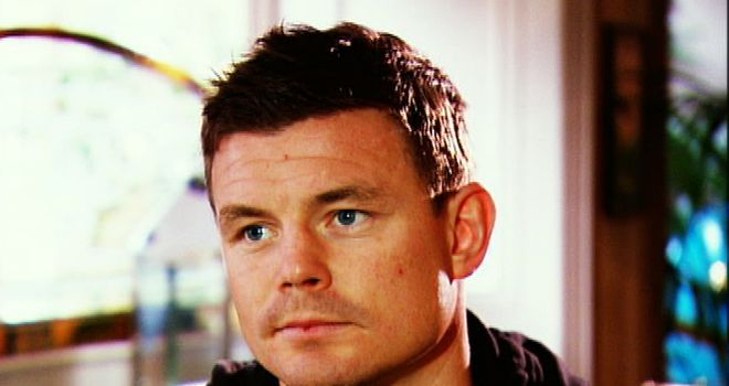 Brian O'Driscoll: Will miss the entire Six Nations