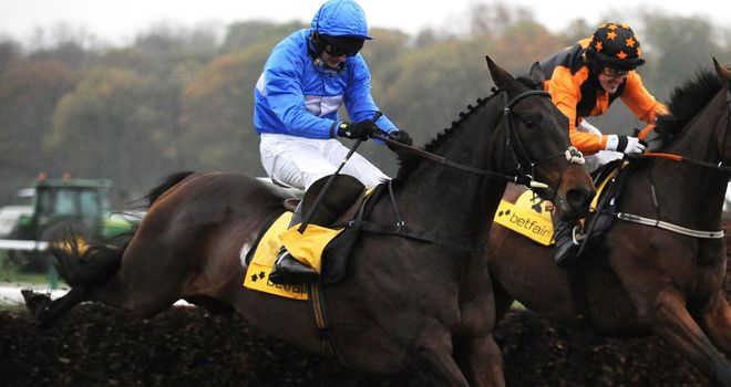 Cappa Bleu: Pleasing trainer on the run up to Aintree