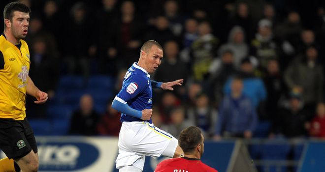 Kenny Miller: Settled at Cardiff and is targeting promotion to the Premier League this season
