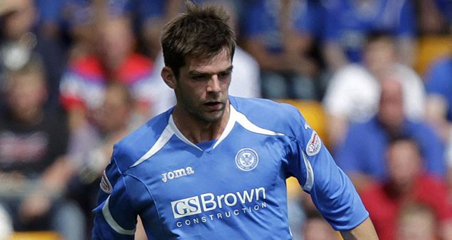 Cillian Sheridan: On-loan St Johnstone striker may have played his last game for the club due to hamstring injury