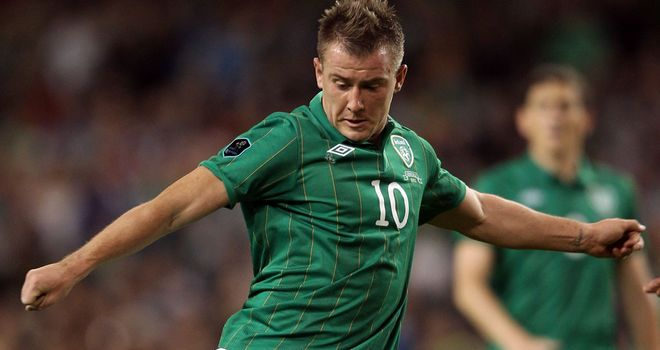 Simon Cox: Hoping to feature for Ireland at Euros this summer