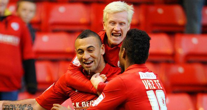 Davies (c): Scored for Barnsley