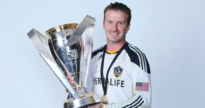 David Beckham: Could be on his way out of LA Galaxy after picking up first trophy