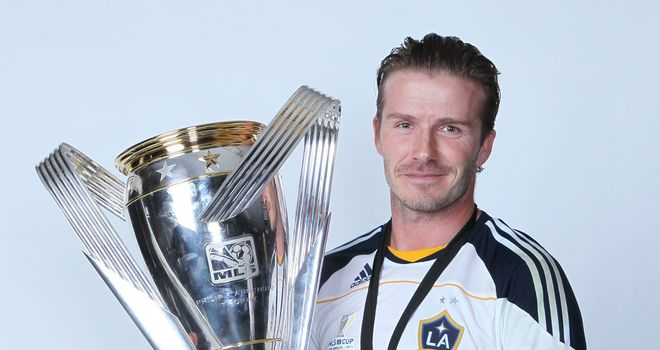 David Beckham: After helping Galaxy to the MLS title