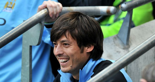David Silva: Has been a regular for Manchester City this season but wants Champions League success