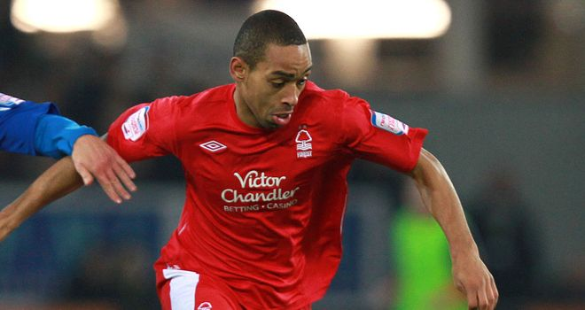 Dexter Blackstock: The Nottingham Forest striker played 45 minutes and scored in a friendly against York