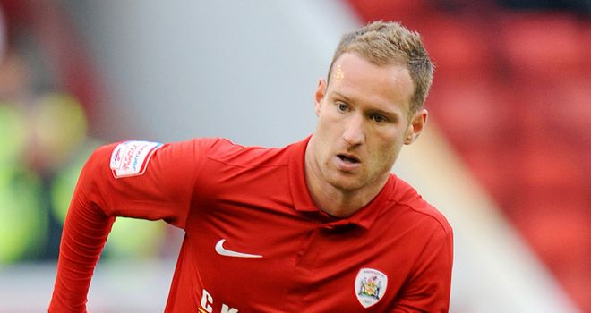 Matt Done: Has enjoyed his first season at Barnsley and is already looking forward to 2012/13