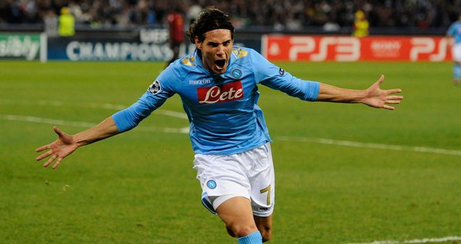 Edinson Cavani: Happy to stay at Napoli despite links to Manchester City