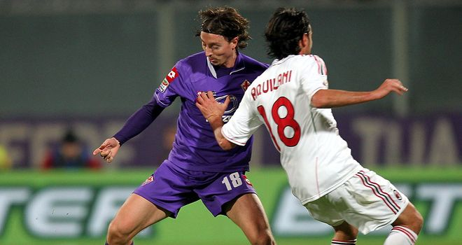 Riccardo Montolivo: Joining AC Milan on a free transfer from Fiorentina