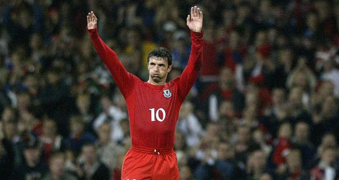 Gary Speed: Played his last Wales game in 2004 after representing his national side for over 14 years