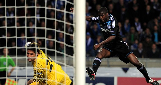 Ramires: Breaks the deadlock after a neat one-two with Fernando Torres