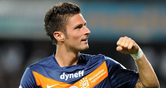 Olivier Giroud: Montpellier's owner claims Newcastle United are 'too small' a club for the striker