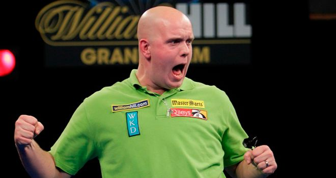 Van Gerwen: has caught the eye in Wolverhampton