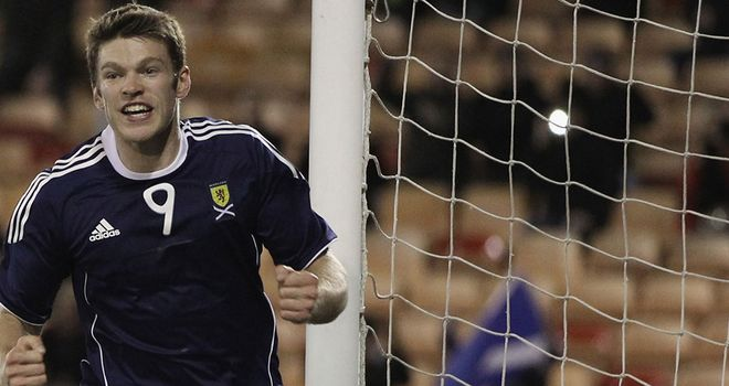 Jamie Mackie: Back in Scotland's starting line-up for clash with Cyprus