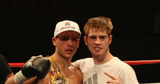 Joe Murray (R) with brother John: World title ambitions