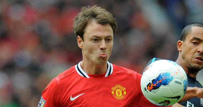 Jonny Evans: Not happy to captain United to Carling Cup loss