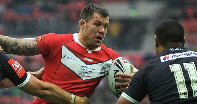 Jordan James: Thinks Wales' prospects for the 2013 World Cup are bright