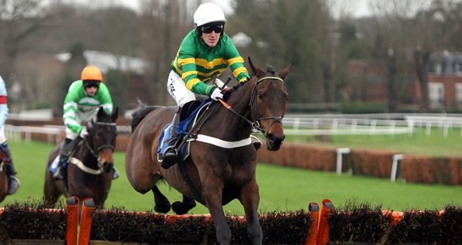 Kid Cassidy: Easy winner at Ludlow