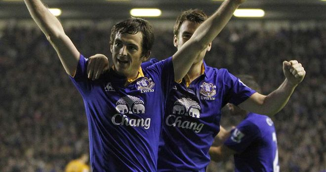Leighton Baines: Sealed points with late penalty against Wolves