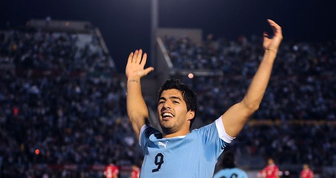 Luis Suarez: Liverpool striker scored four against Chile for Uruguay