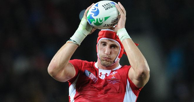 Luke Charteris: Cleared to play for Wales against Australia
