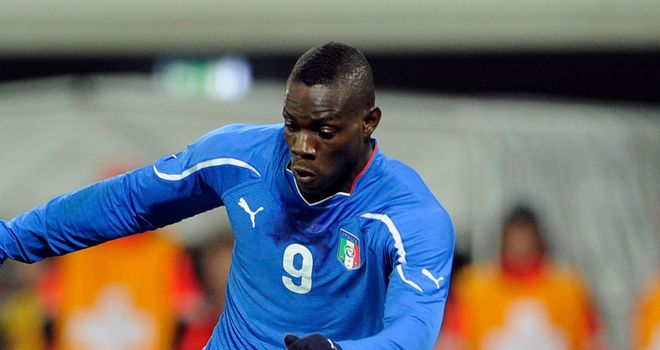 Mario Balotelli: Is a focal point for the Italy team, admits coach Cesare Prandelli