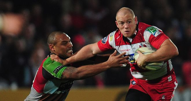 Mike Tindall: Kingsholm return