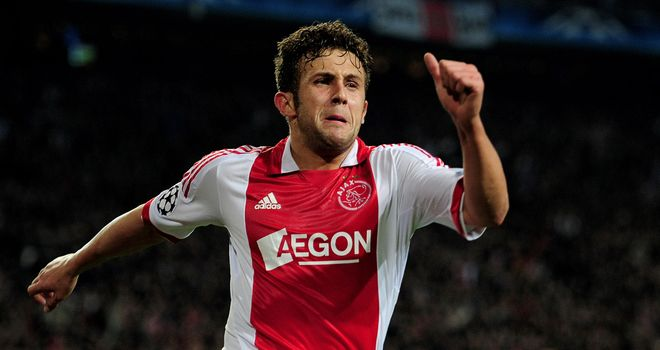 Miralem Sulejmani: Will not be signing a contract extension at Ajax