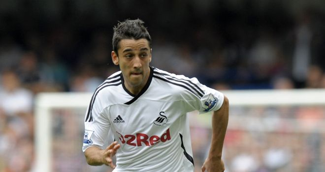 Neil Taylor: Swansea City full-back is flattered by rumours he is attracting interest from Arsenal