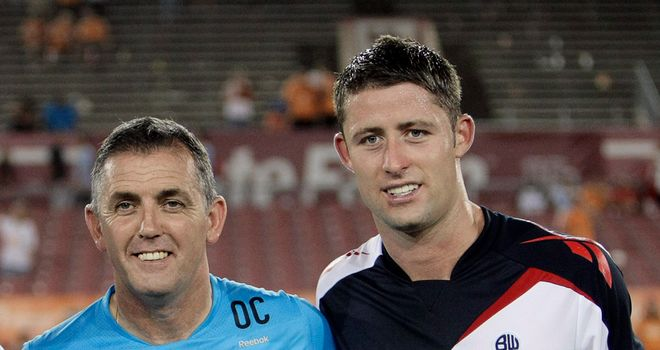 Owen Coyle: Bolton manager believes Gary Cahill can have England future by staying at the Reebok