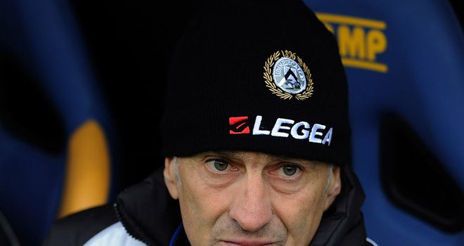 Udinese manager Francesco Guidolin has been backed by owner Giampaolo Pozzo