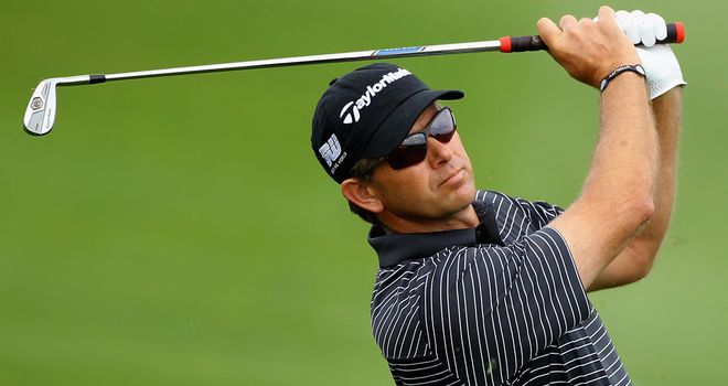 Retief Goosen: Tees off in the last group at 1135 local (0935 UK)