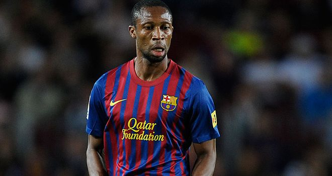 Seydou Keita: Struck crucial goal for Barcelona against Sporting Gijon