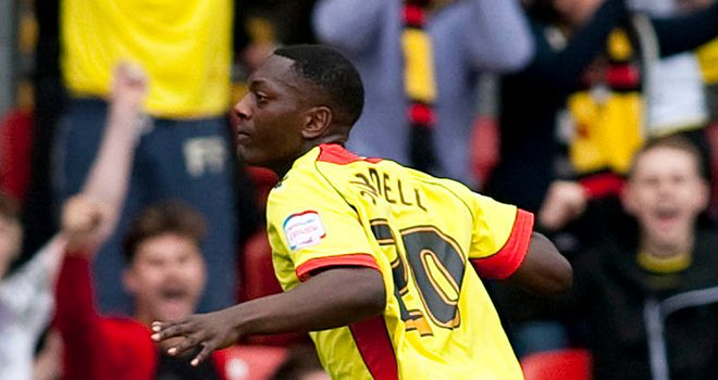 Marvin Sordell: Watford youngster keen to carry on scoring