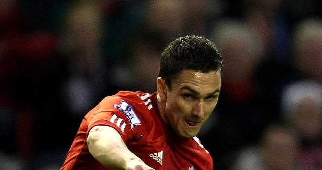 Stewart Downing: Joined Liverpool last summer in a £20m deal from Aston Villa