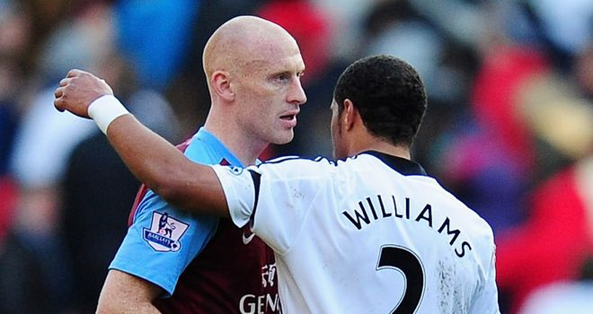 James Collins: Poised for a move back to West Ham from Aston Villa