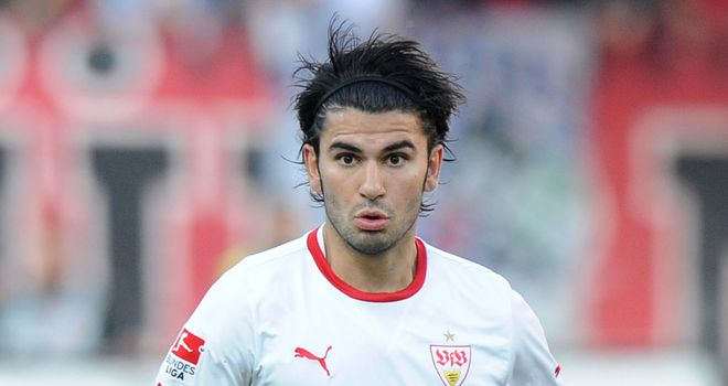 Serdar Tasci: On the mark for Stuttgart in the Romanian capital