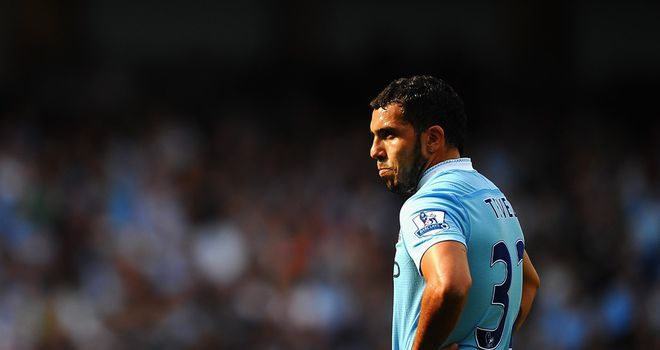 Carlos Tevez: Milan are still keen on taking Man City's wantaway striker