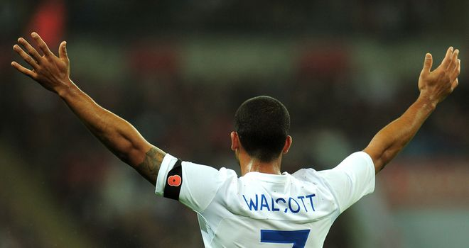 Theo Walcott: Believes England have strength in depth after youngsters stepped up