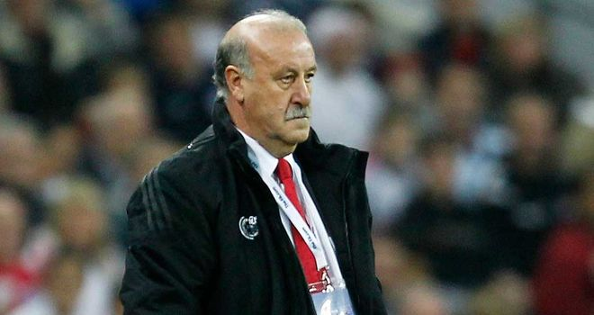 Vicente del Bosque: World and European champions Spain top the rankings
