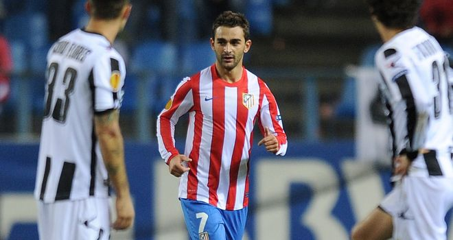 Adrian: Atletico Madrid striker has been linked with Tottenham but is not for sale