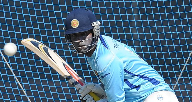 Angelo Mathews: a calf problem forced him to miss Sri Lanka's victory in Galle
