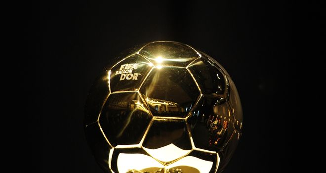 FIFA Ballon d'Or: Winner will be announced on Monday evening in Zurich