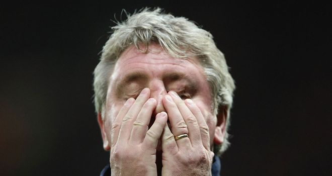 Steve Bruce: Was relieved of his duties at the Stadium of Light on Wednesday
