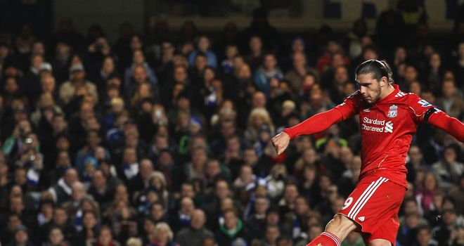 Andy Carroll: Has found the net just four times in his 20 appearances in a Liverpool shirt