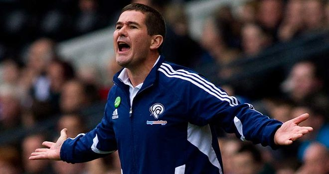 Nigel Clough: Derby manager is hoping to free up space in his squad by offloading fringe players