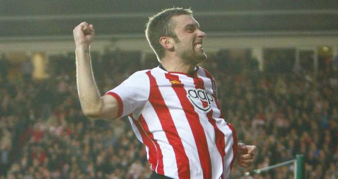 Rickie Lambert: Thriving off the supply he is getting from his Southampton team-mates