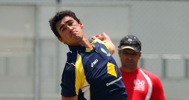 Mitchell Starc: delayed start to Yorkshire stint
