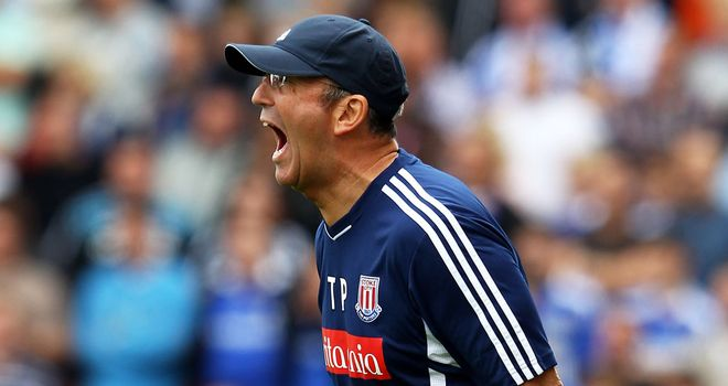 Tony Pulis: Stoke boss has enjoyed a great start in his European debut season